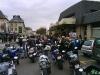 Devant la gare de Compiègne