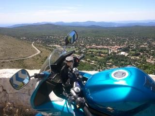 balade moto saint vallier de thiey