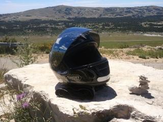 balade moto plateau caussol