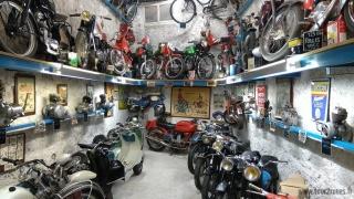 Musée de la Moto d'Entrevaux - étage supérieur