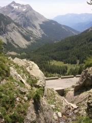 route du col de la Cayolle