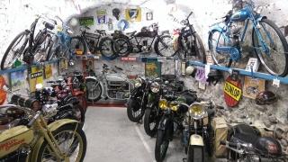 Musée de la Moto d'Entrevaux - étage inférieur