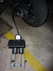 Pompe à pied Michelin double pistons